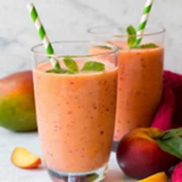 Mango & Peach Delight Smoothie