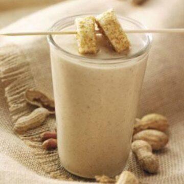 Nutty Nana Milkshake