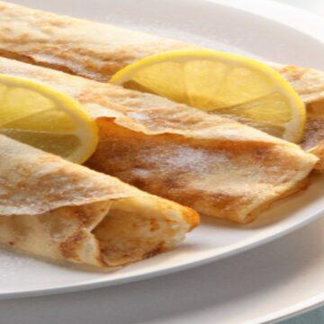 Sugar & Lemon Crepe
